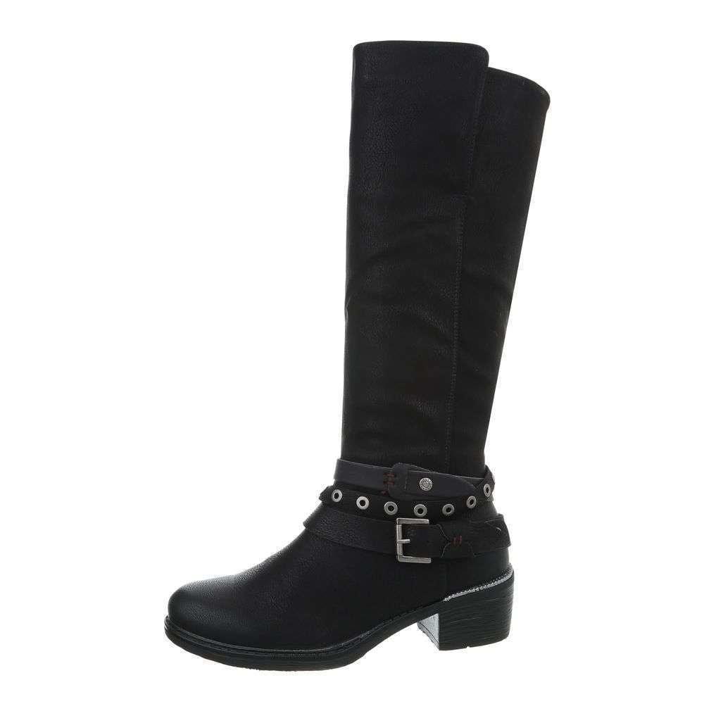 Čierne čižmy - 36 EU shd-oko1036bl