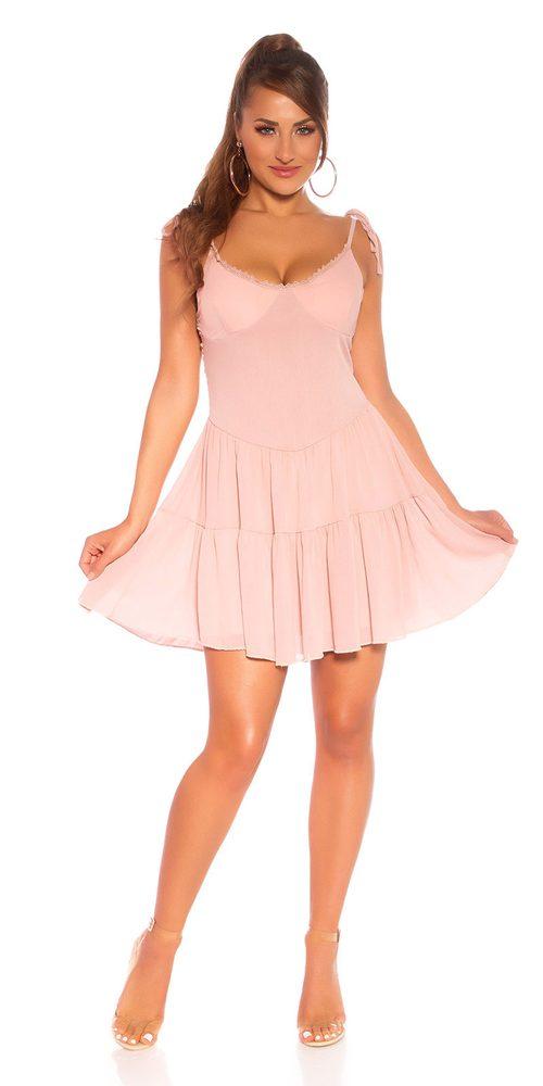Letní mini šaty - S/M Koucla in-sat2203pi