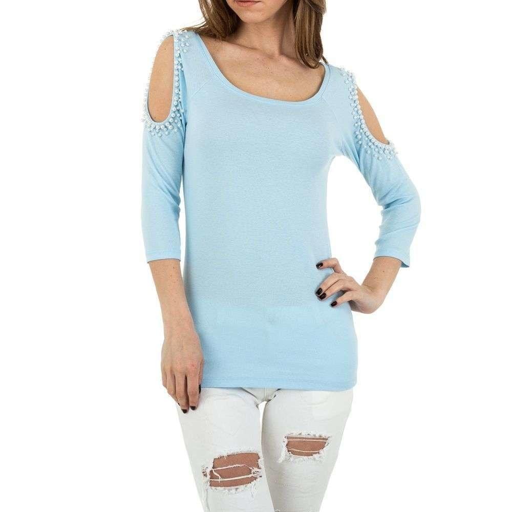 Dámske tričko modrej shd-to1009mo