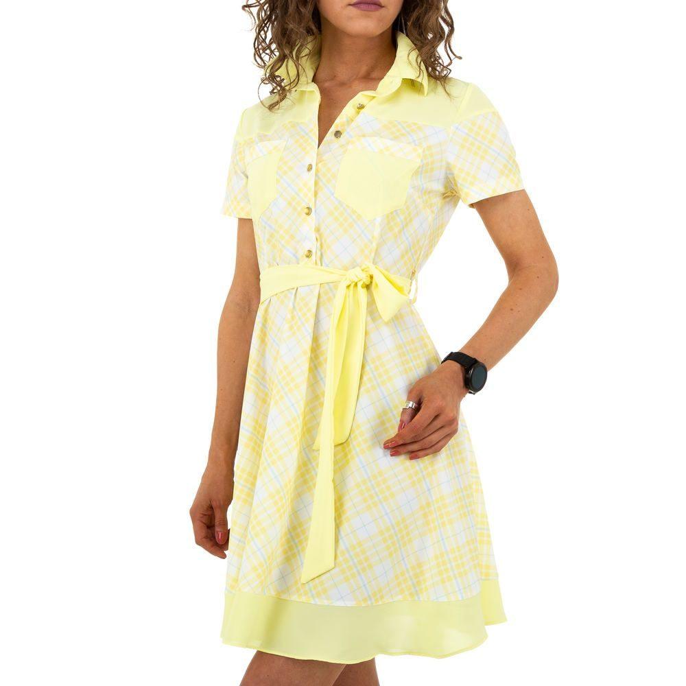 Letní šaty s páskem EU shd-sat1197ye
