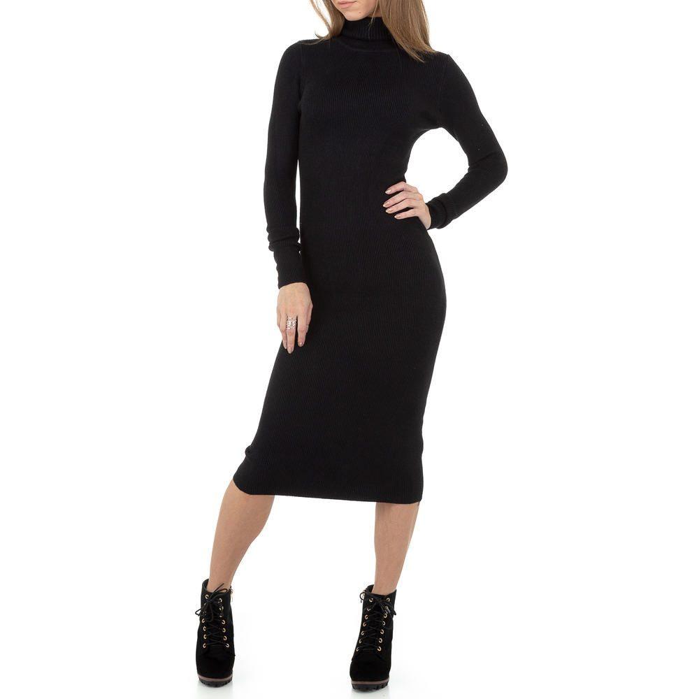 Dámské úpletové šaty - S/M EU shd-sat1241bl