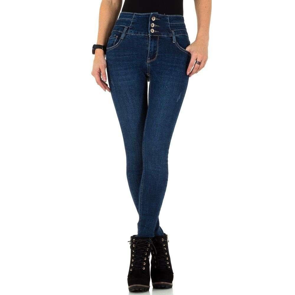 EU Dámské džíny s vysokým pasem