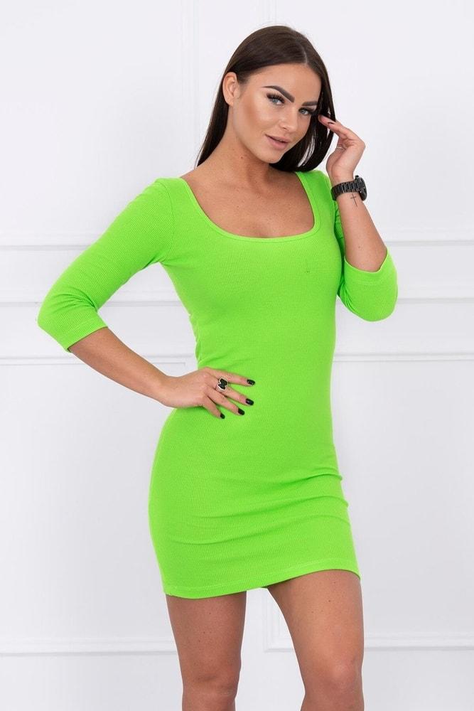 Neónové dámske šaty - S/M Kesi ks-sa8973nz