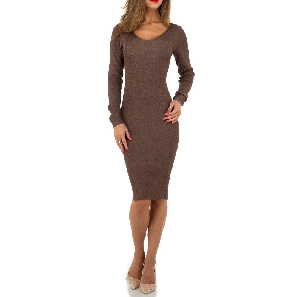 Úpletové dámské šaty EU shd-sat1236hn