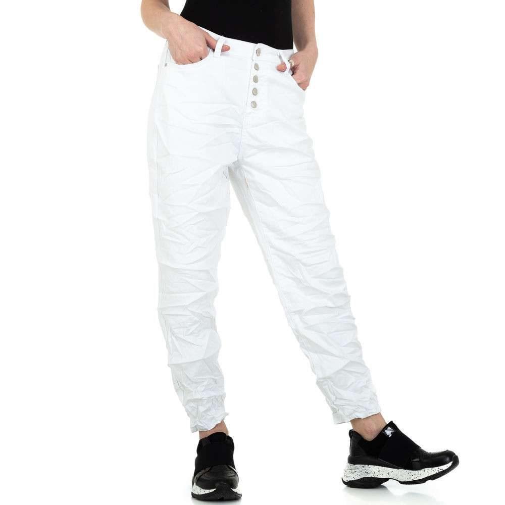 Bílé dámské džíny - M/38 EU shd-ri1522wh