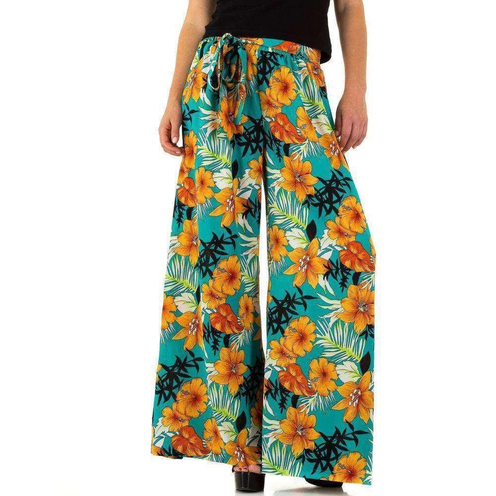 Letní dámské kalhoty - M EU shd-ka1019tu