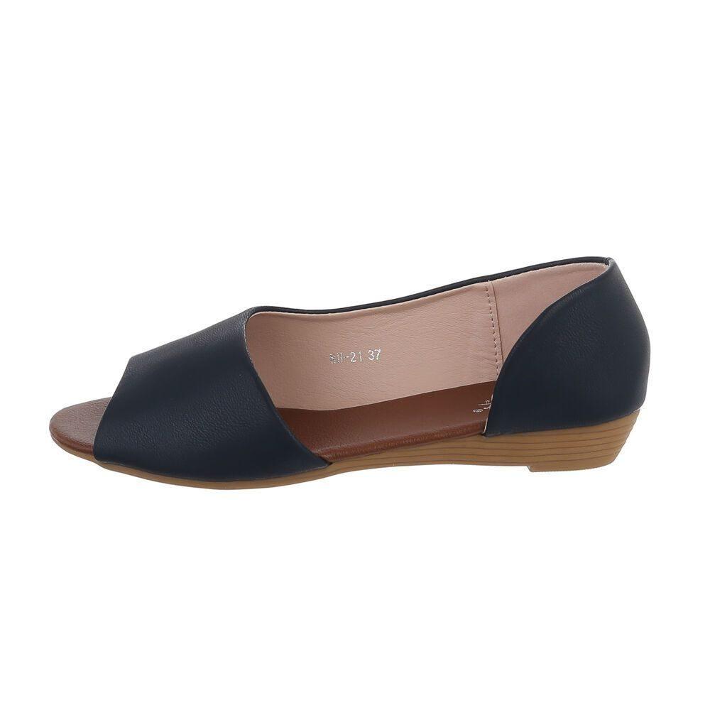 Tmavě modré sandály - 41 EU shd-osa1415tm