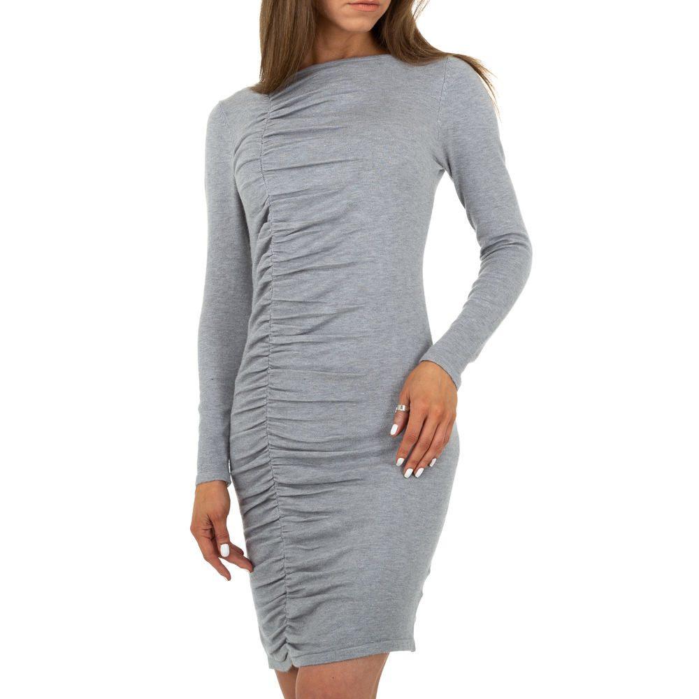 Úpletové mini šaty EU shd-sat1262gr