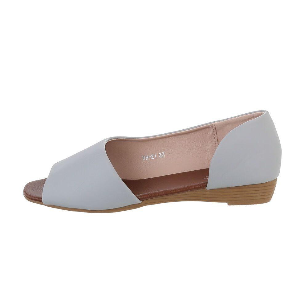 Dámské šedé sandálky - 40 EU shd-osa1415gr