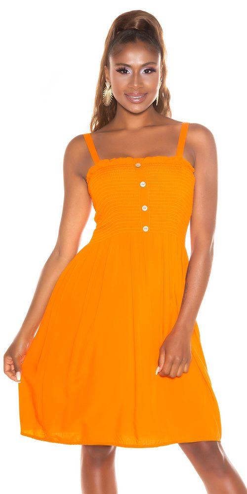 Krátké letní šaty Koucla in-sat2288or
