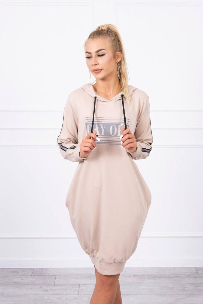Dámské šaty s kapucí Kesi ks-sa67394be