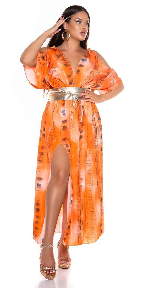 Dlouhé letní šaty Koucla in-sat2289or