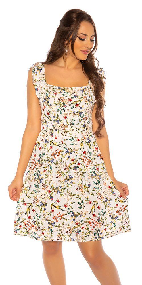 Dámské letní šaty - S/M Koucla in-sat2180wh