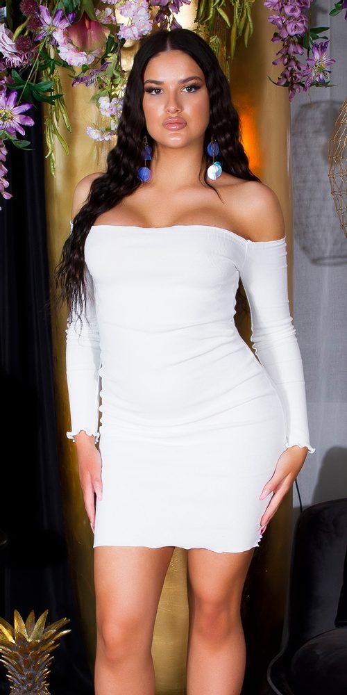 Letní mini šaty - S/M Koucla in-sat2273wh