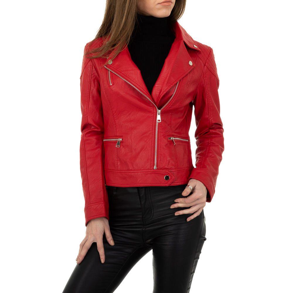 Dámská bunda z umělé kůže - L/40 EU shd-bu1301re
