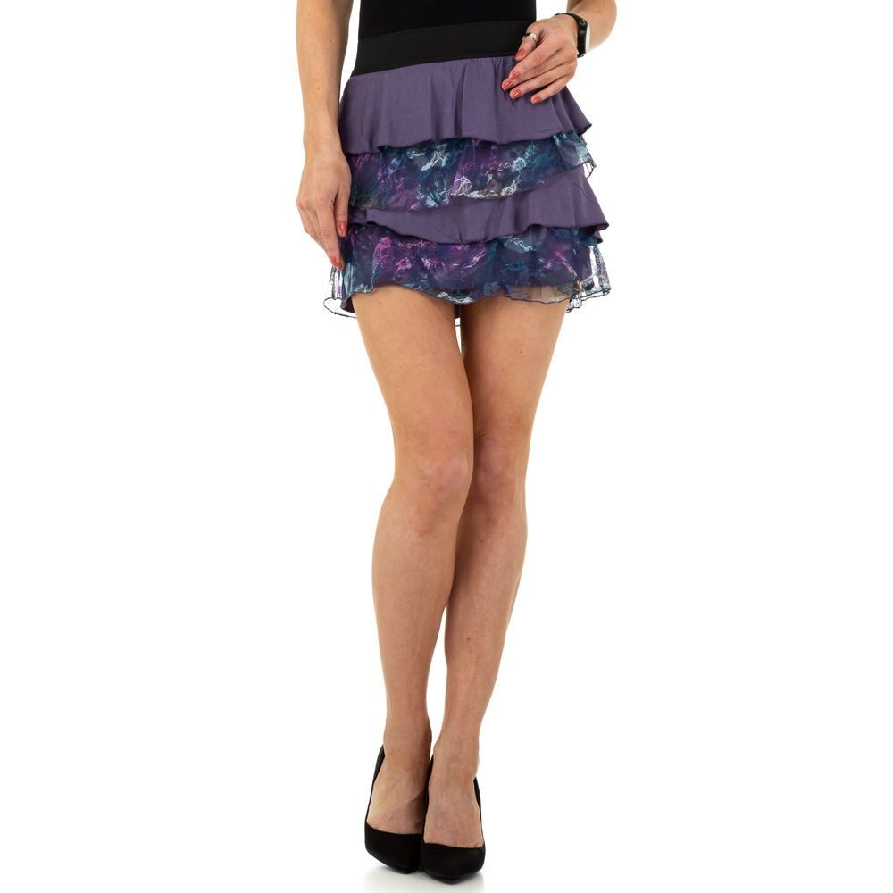 Volánková mini sukně - XL/XXL EU shd-su1046li