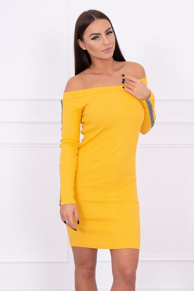 Dámske šaty s lampasmi - S/M Kesi ks-sa5335ge