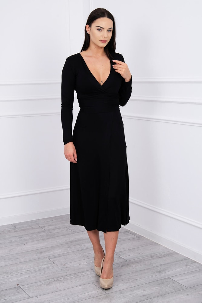 Zavinovací dámské šaty Kesi ks-sa62247bl