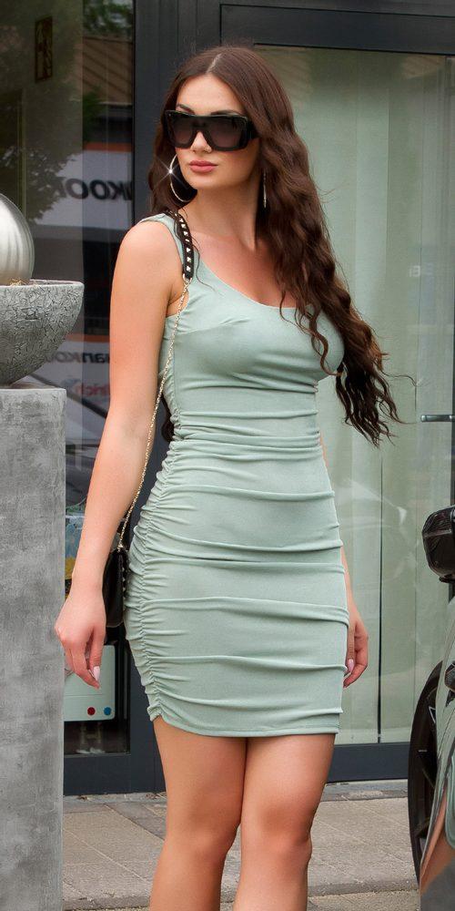 Letní dámské mini šaty - S/M Koucla in-sat2215kh