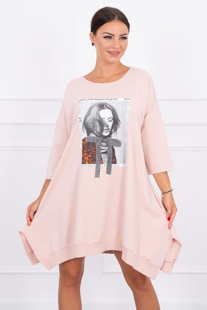 Mikinové šaty Kesi ks-sa9007spi