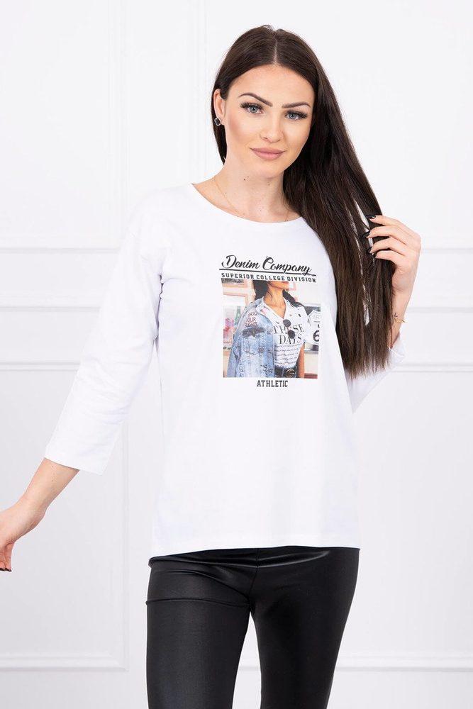 Dámské tričko - Uni Kesi ks-tr66855wh