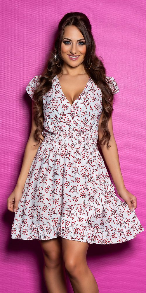Letní krátké šaty - M/L Koucla in-sat2179wh