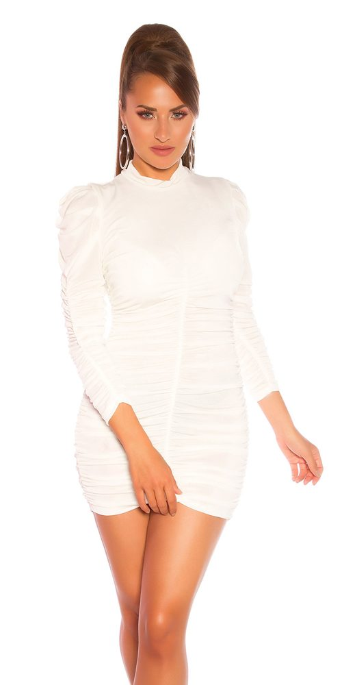Dámské mini šaty - S/M Koucla in-sat2209wh