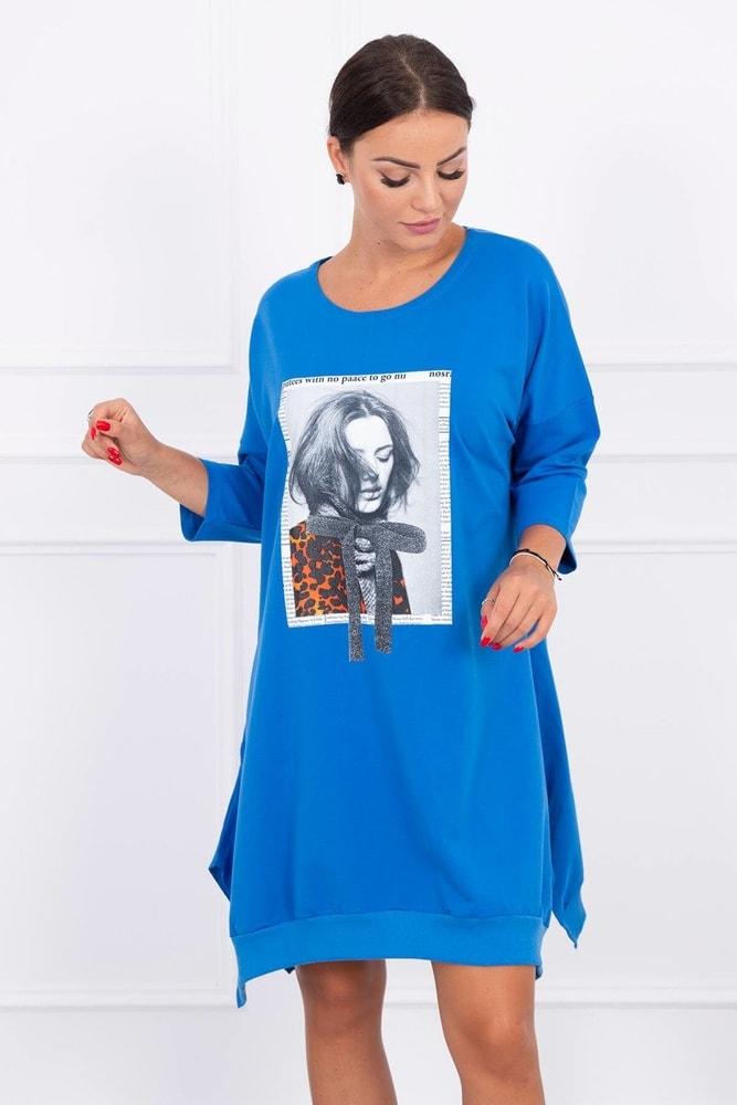 Mikinové dámské šaty Kesi ks-sa9007mo
