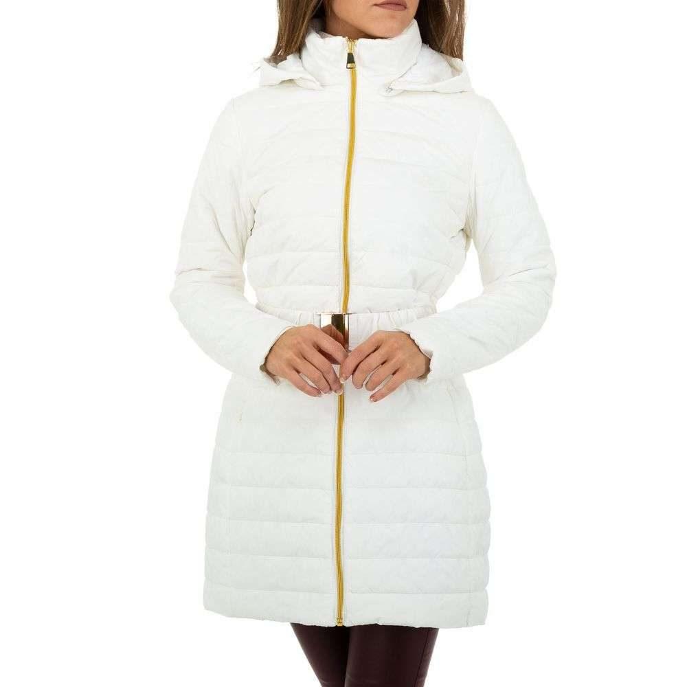 Dámska zimná bunda s opaskom EU shd-bu1190wh