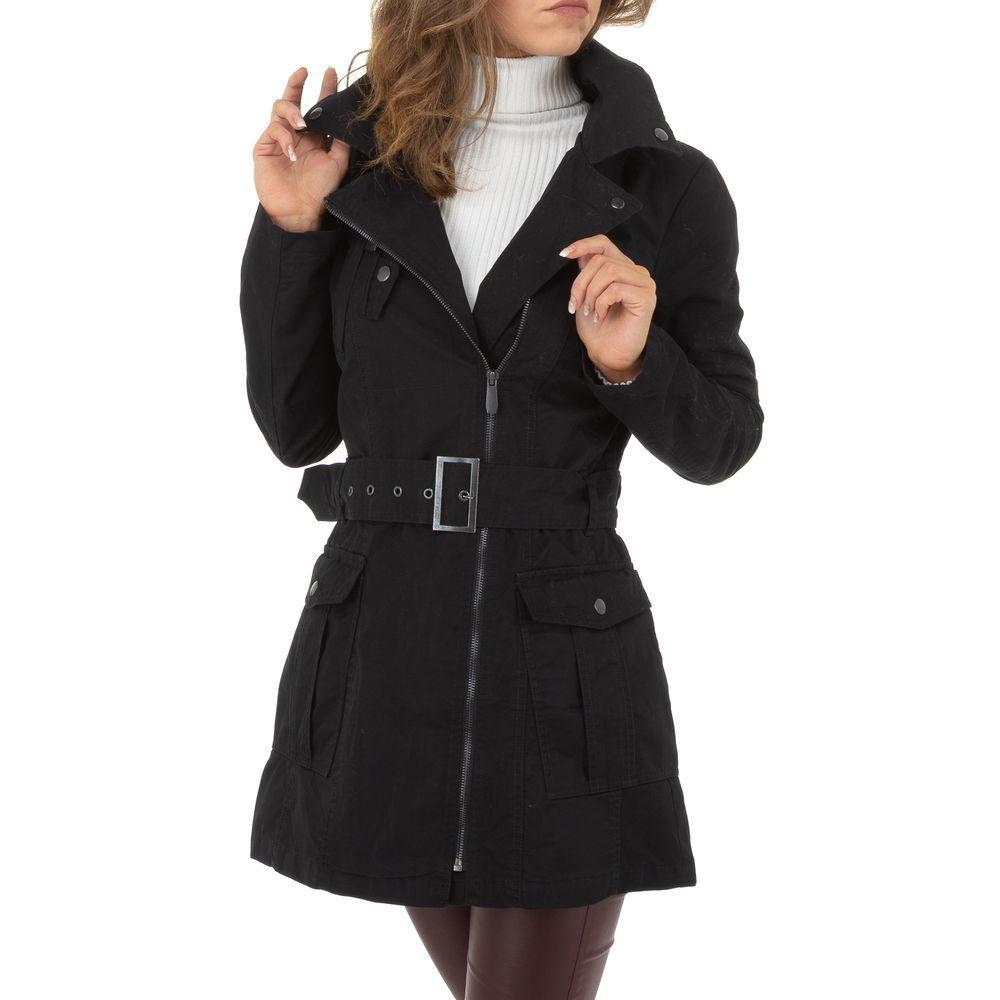 Jarný dámsky kabátik EU shd-bu1183bl