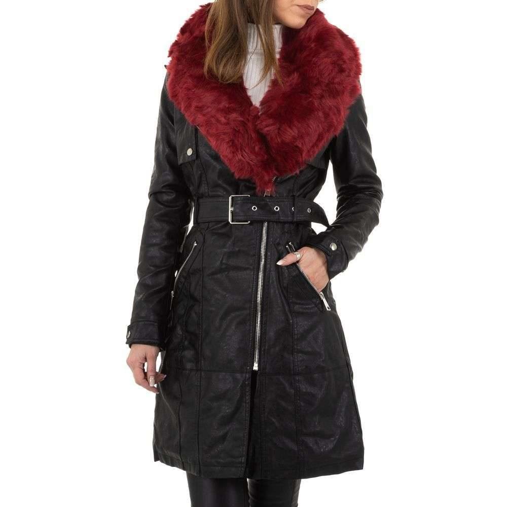 Koženková zimná bunda - M/38 EU shd-bu1195vi
