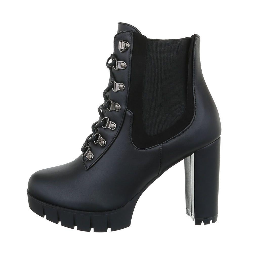 Členková dámska obuv EU shd-okk1205bl