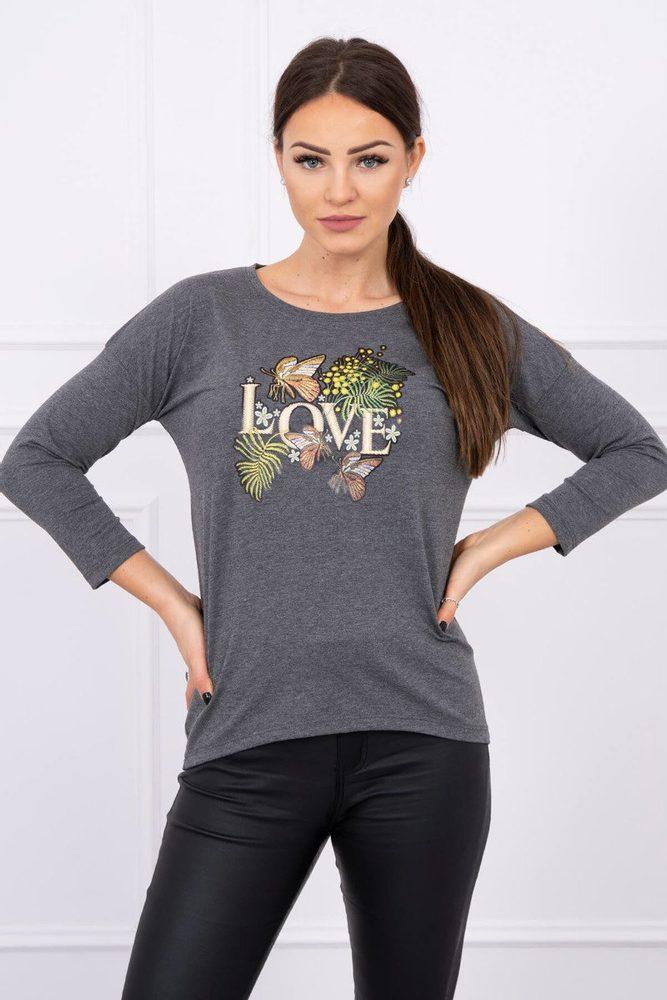 Dámské tričko - Uni Kesi ks-tr0101tg