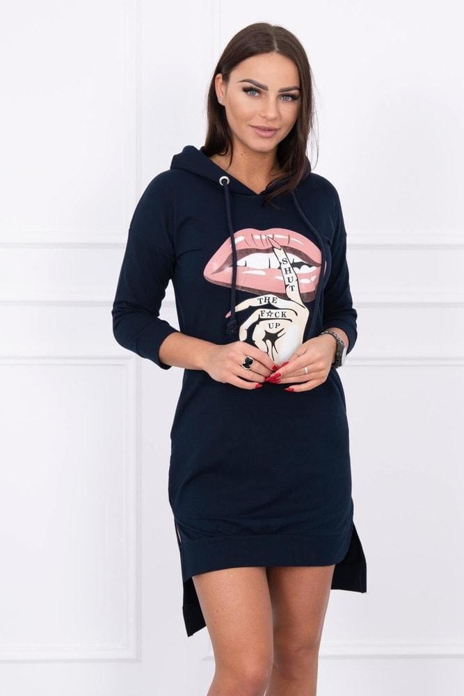 Mikinové mini šaty Kesi ks-sa64632tm
