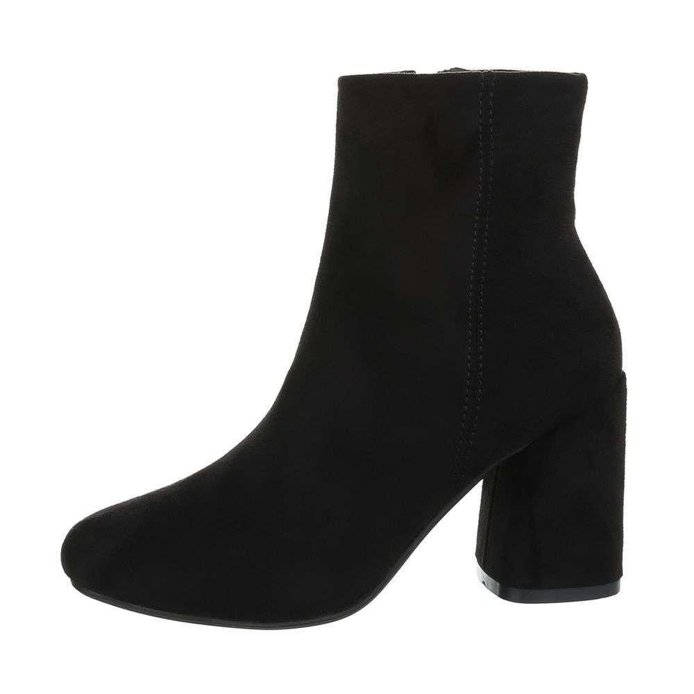 Čierne členkové topánky - 39 EU shd-okk1020bl
