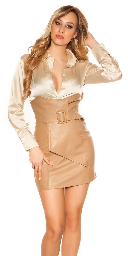 Dámska sukňa vysokým pásom Koucla in-su1183ca