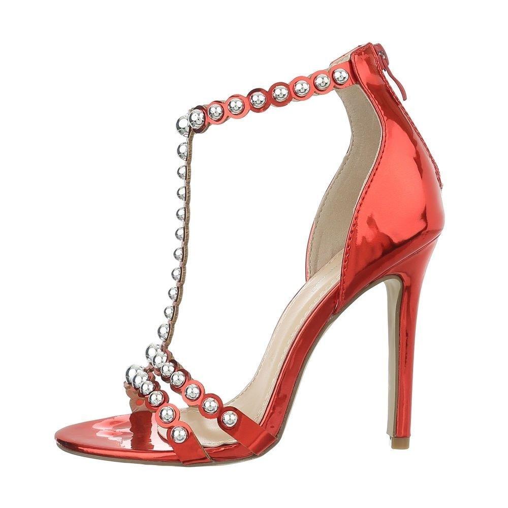 Červené sandálky - 40 EU shd-osa1029re