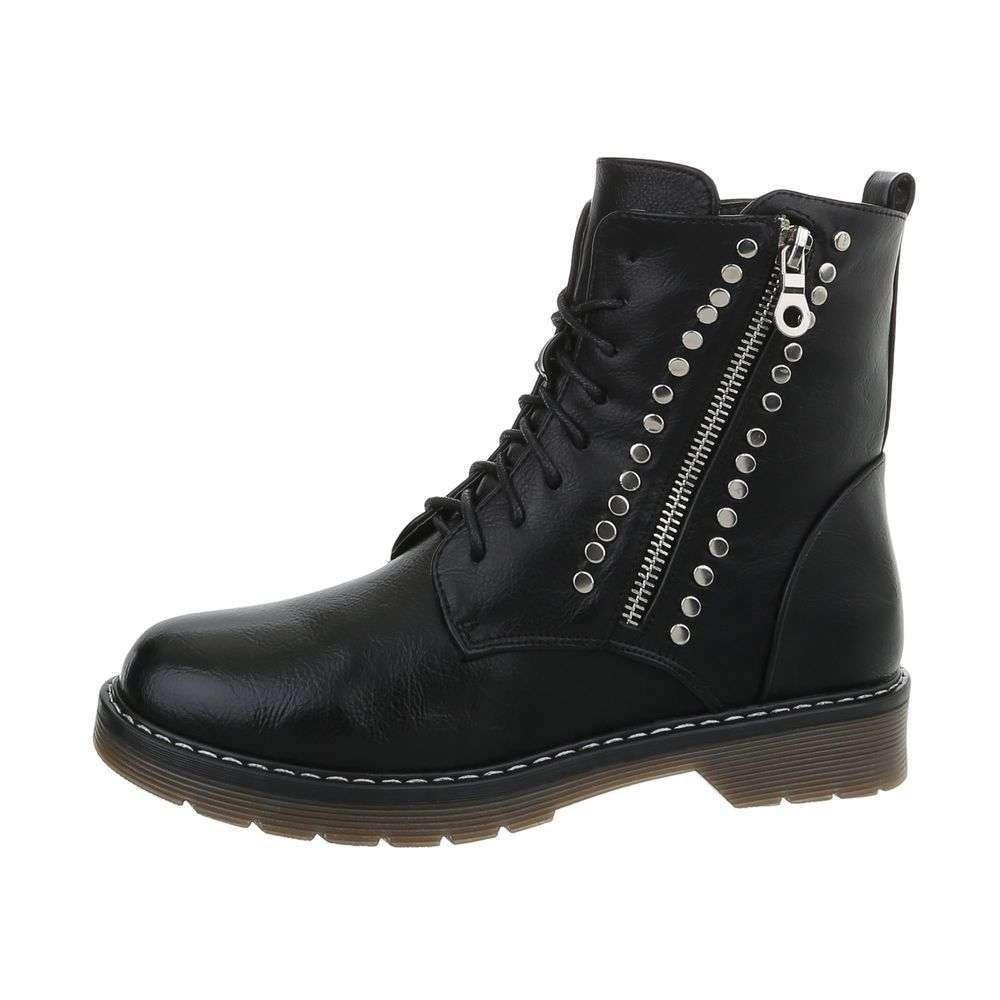 Dámská kotníková obuv EU shd-okk1208bl