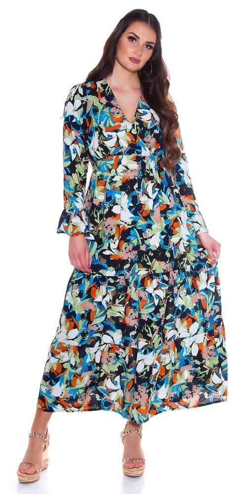 Dlouhé letní šaty - S/M Koucla in-sat2281tm