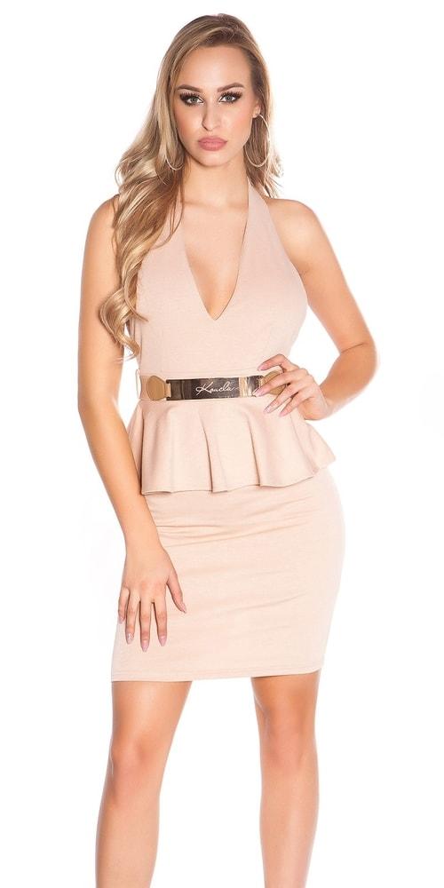 Elegantné dámske šaty - S Koucla in-sat1107be