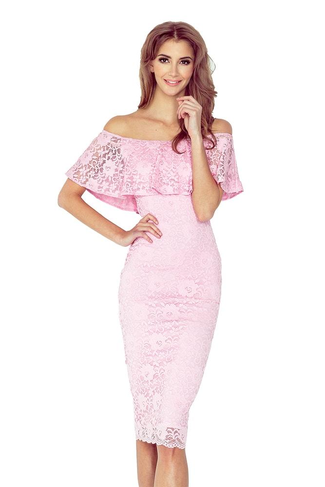 Dámske čipkované šaty - L morimia nm-sat013-2