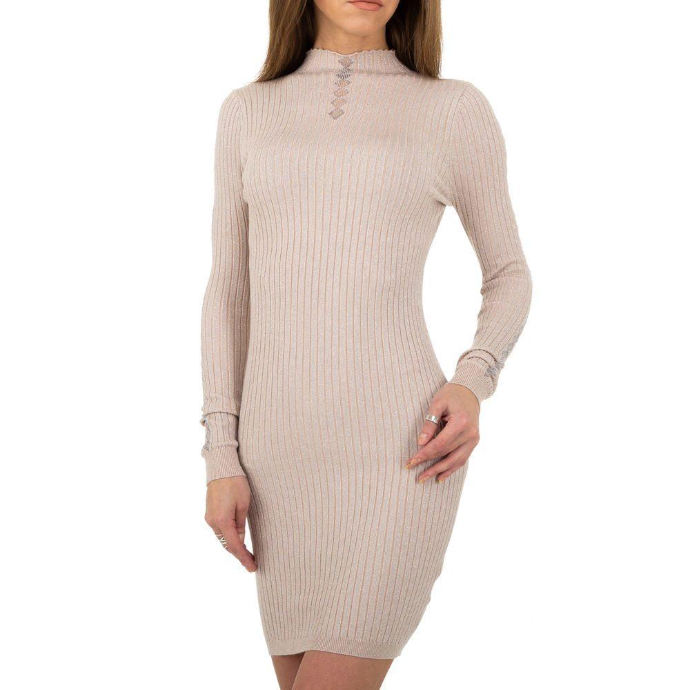 Úpletové mini šaty EU shd-sat1255pi