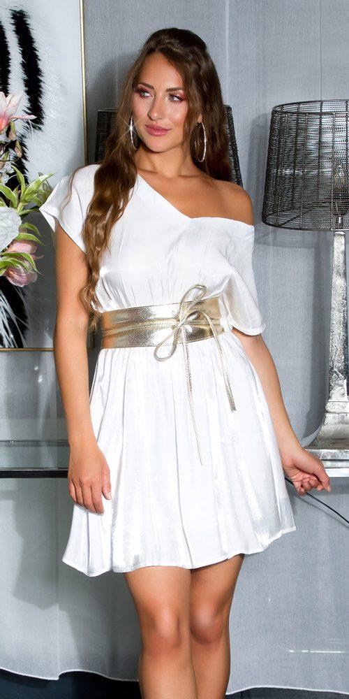 Letní mini šaty - M Koucla in-sat2210wh