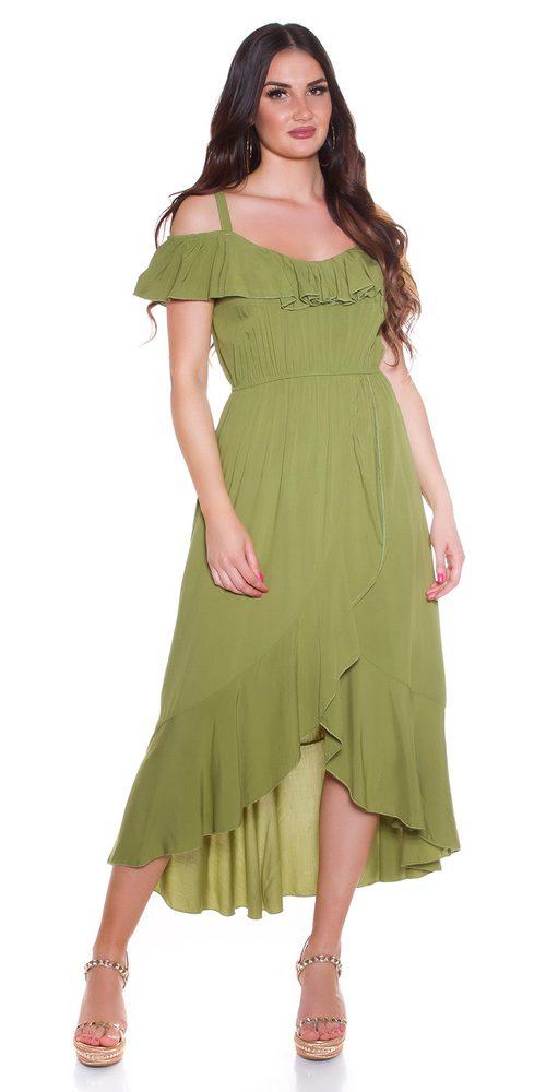 Dlouhé letní šaty Koucla in-sat2191ze
