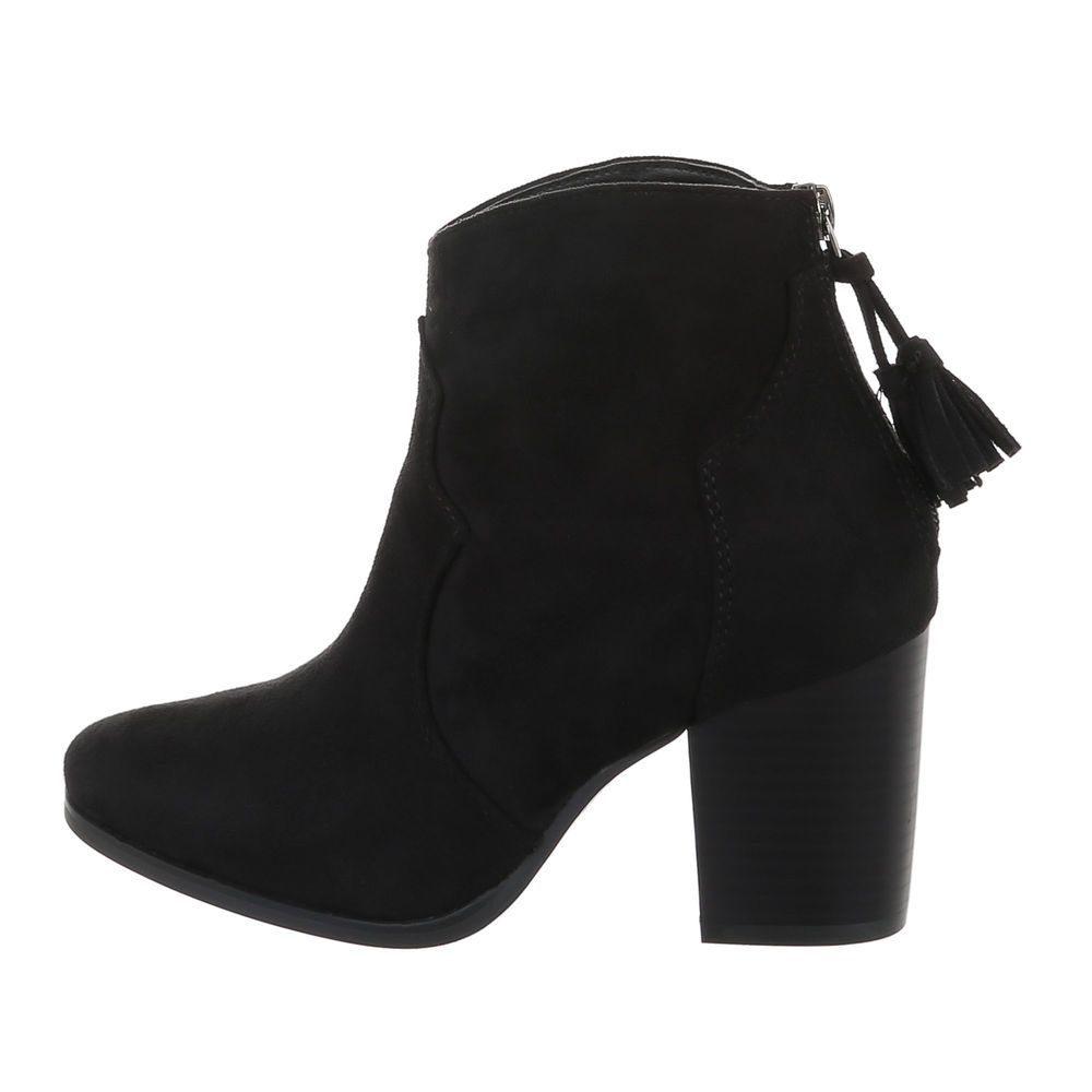 Elegantní kotníková obuv - 39 EU shd-okk1409bl