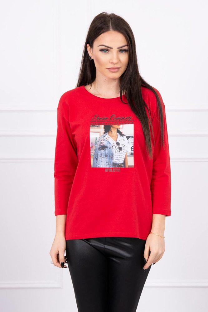 Dámské tričko - Uni Kesi ks-tr66855re