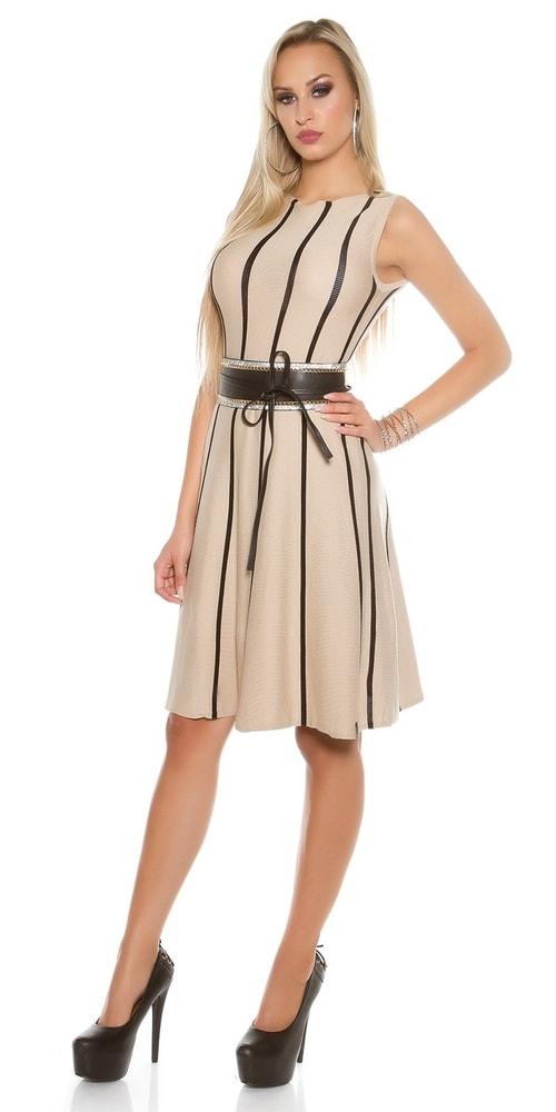 Dámske šaty z úpletu Koucla in-sat1454be