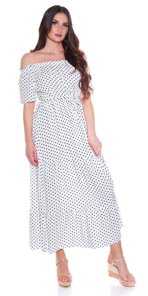 Dlouhé letní šaty Koucla in-sat2280wh