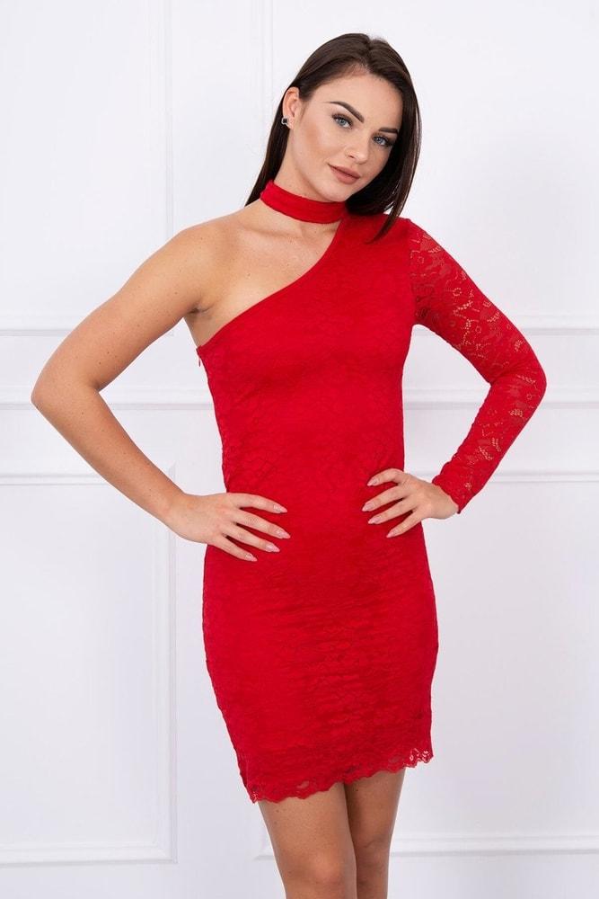 Dámske čipkované mini šaty - M/L Kesi ks-sa5105re