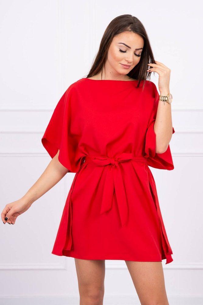 Mini šaty s kimono rukávy Kesi ks-sa9016re